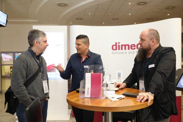 dimedis-Stand beim eMarketing Day (Quelle: dimedis)